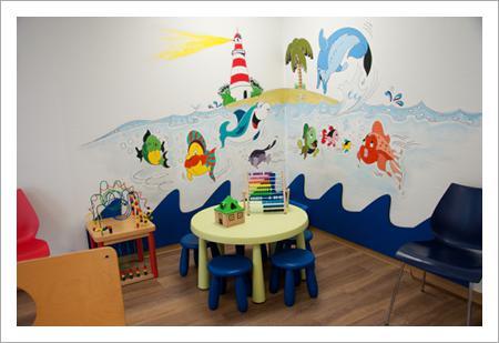 Wartezimmer - Kinderarzt Brackenheim